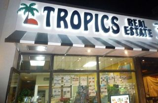 Tropics at night