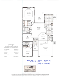 Mad park arlington floor plan