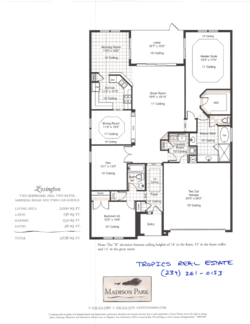 Mad park lexington floor plan
